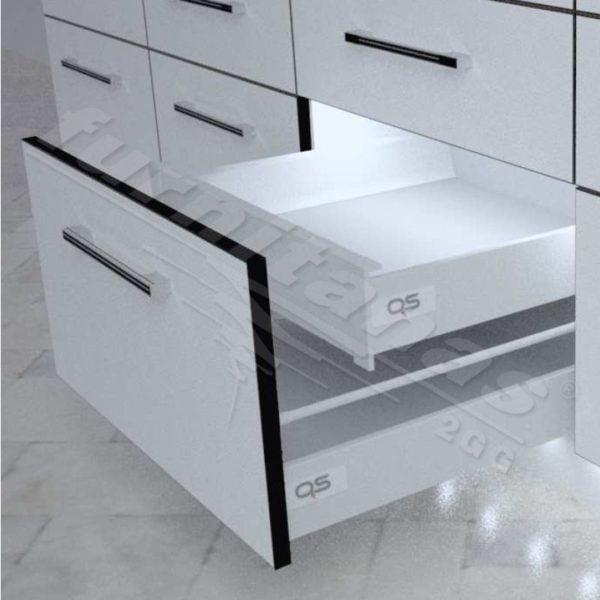 """Slidebox"" inset drawer H-86 mm"