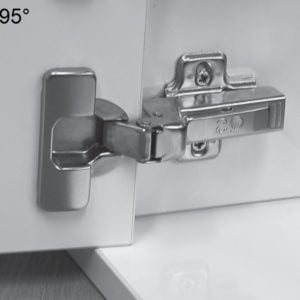 """TOP LINE"" profiled door hinges"