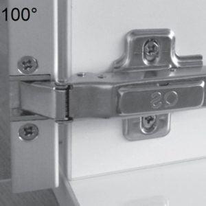 """TOP LINE"" aluminum frame hinges"