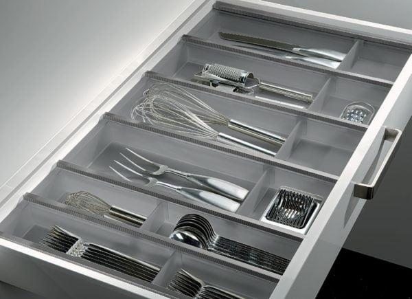 "Cutlery trays ""FLEX LINE"", Graphite"