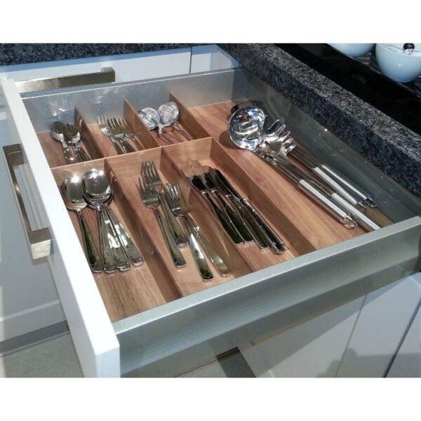 Wooden cutlery trays FINE LINE 4