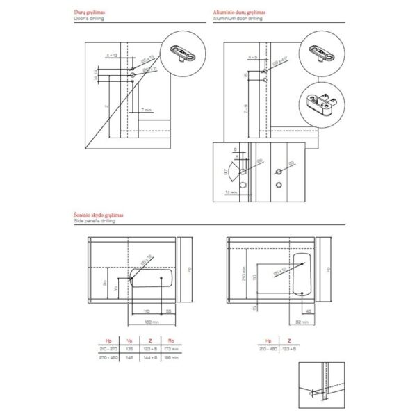 "Opening Mechanism for Flap Doors ""MINIWINCH"""
