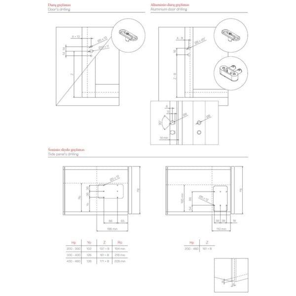 "Opening Mechanism for Flap Doors ""MINIWINCH"" 2"