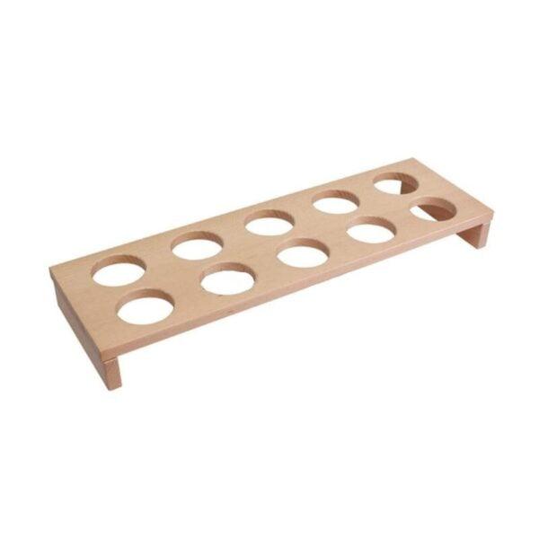 Spice holder, 10 holders - Wood line