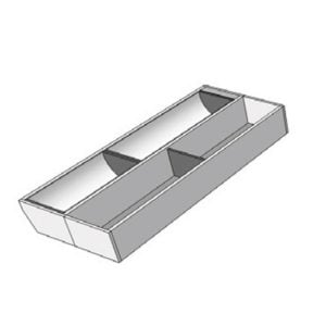 For a cabinet of 450 mm width, M2