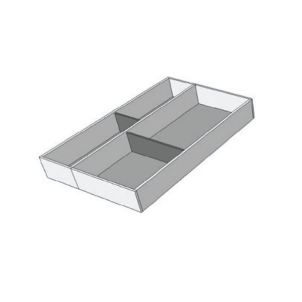 For a cabinet of 500-600 mm width, F3