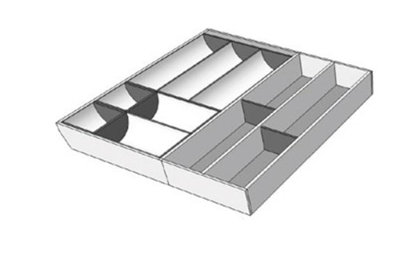 For a cabinet of 700-800 mm width, M5A