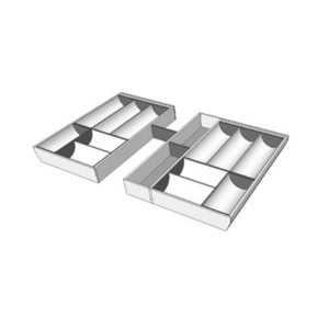 For a cabinet of 900 mm width, T8