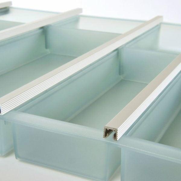 """Cutlery trays """"FLEX LINE"""", Green"""
