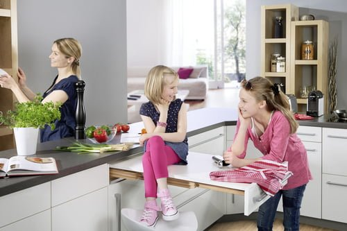 Hailo Rapid Pull-out table
