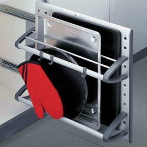 Pull-out shelf - tin holder