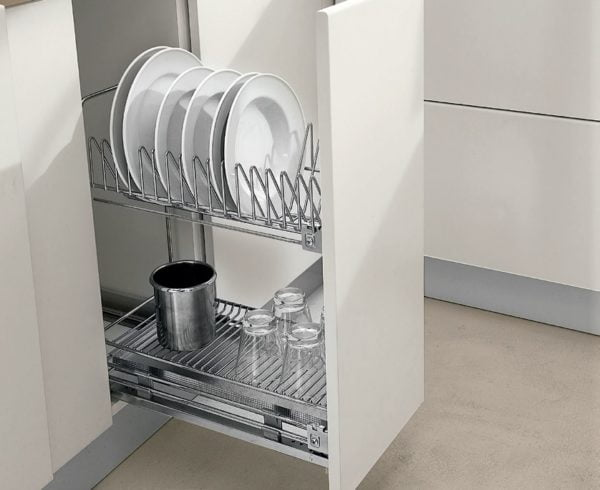 Pull out dish rack - cargo basket 2