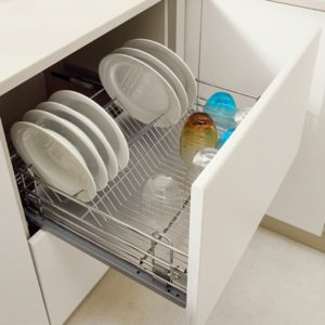 Pull out dish rack – drawer