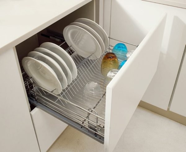 Pull out dish rack - drawer 2