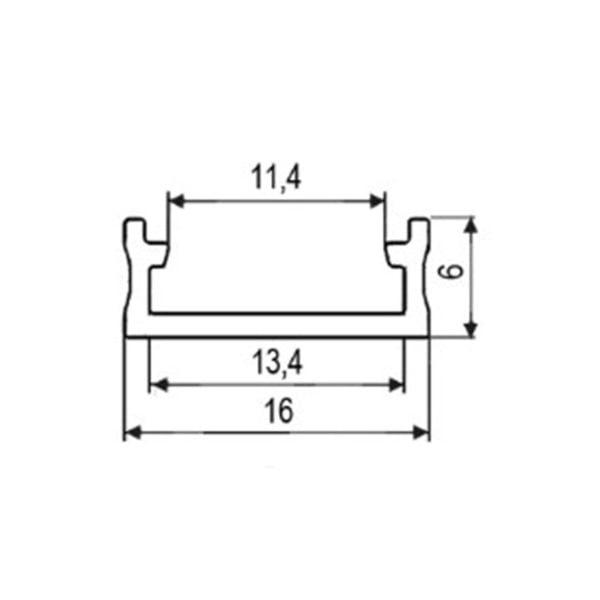 LED profile surface mounting Surface