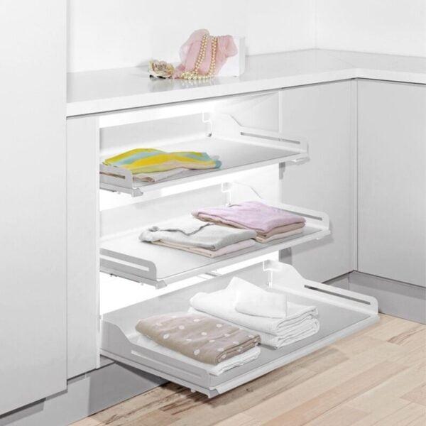 LIBELL extendo shelves for a closet 8