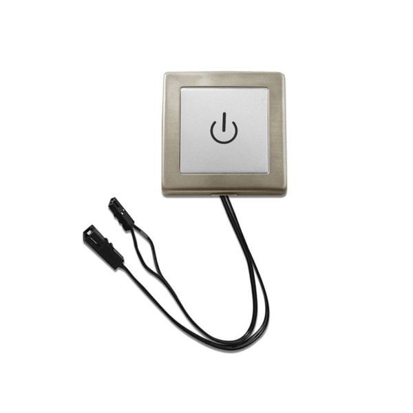 LED touch and dimmer switch surface mounted