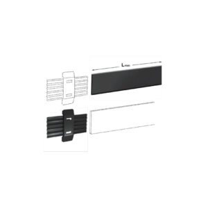 Template for fixing cabinet hangers 821