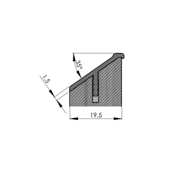 CLIFF 35° PROFILE HANDLE