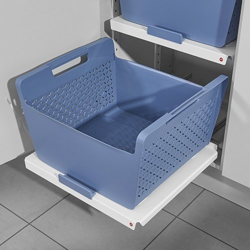 Metal-Pullout with design Laundry-Basket