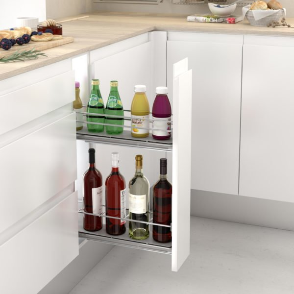 """Pull-out bottle side runners """"Menage confort CLASSIC"""""""