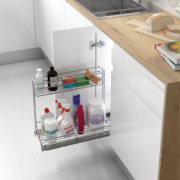 """Pull-out cleaning basket """"Menage confort CLASSIC"""""""
