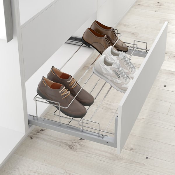 "Pull-out frontal shoe holder ""Menage confort"""