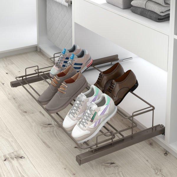"Pull-out shoe holder ""Menage confort"""