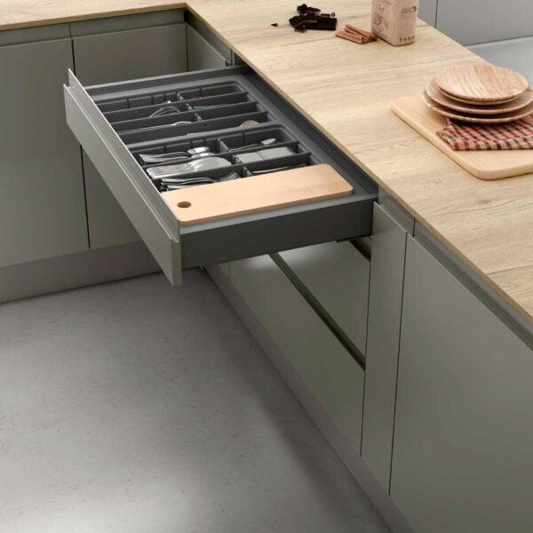 Cutlery tray drawer 2