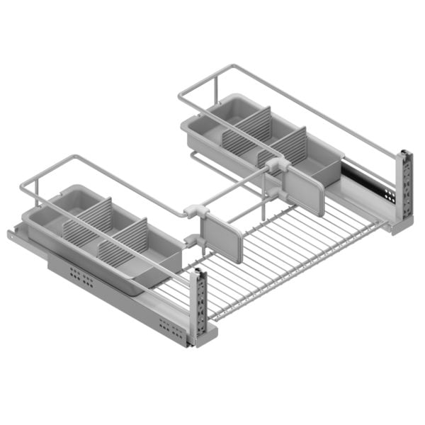 Under sink pull-out basket CLASSIC