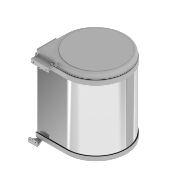 "Waste bin ""Menage confort"" STAINLESS STEEL"