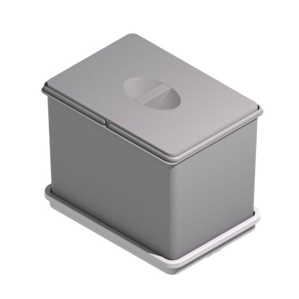 """Ecological waste bin """"Menage confort"""" GREY"""