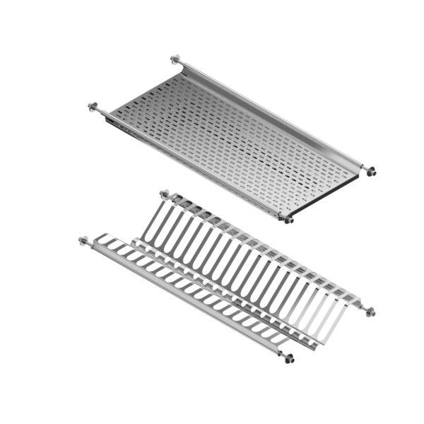"Dish and glass rack set ""Menage confort CLASSIC"""
