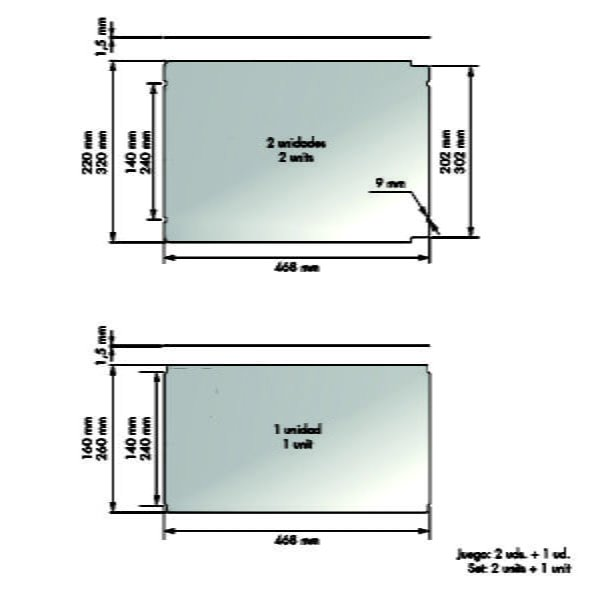 Pantry bottom units set CLASSIC