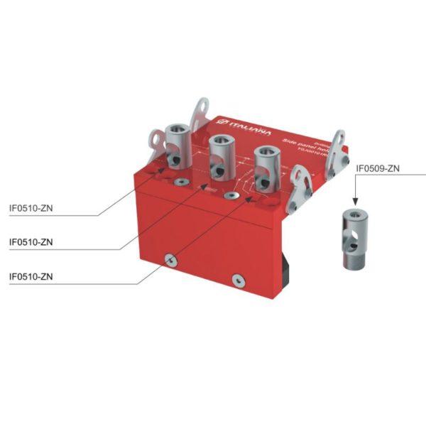 Target J10-J12 drilling jig for side panels 3