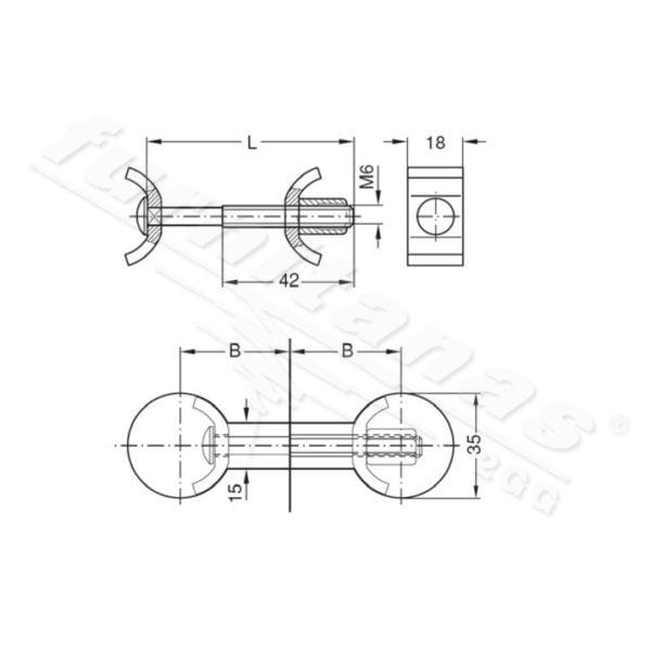 Worktop connector 1