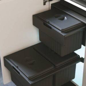 QUADRA Top covers for Dustbin