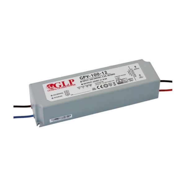 LED POWER SUPPLY 12V, 100W, 8.3A
