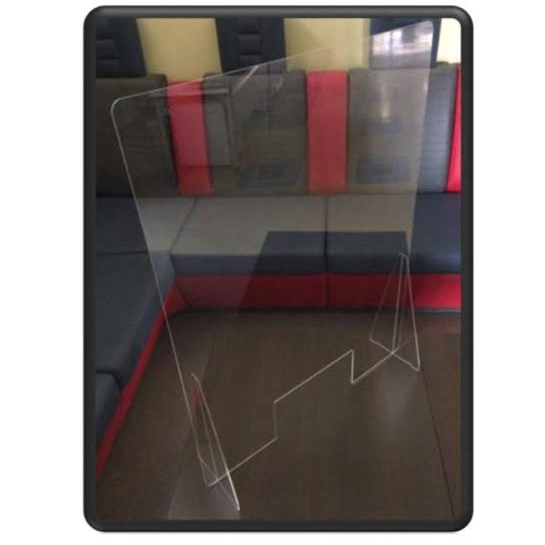 Protective acrylic screen