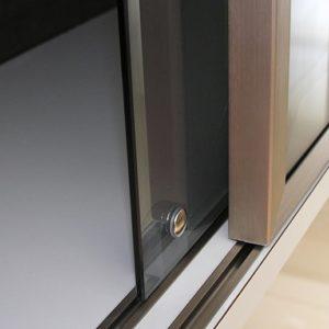 Sliding doors system PS03 for glass doors