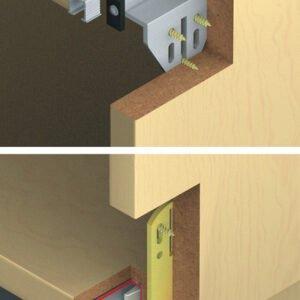 "Sliding doors system ""Eku Clipo 15 HVF"""