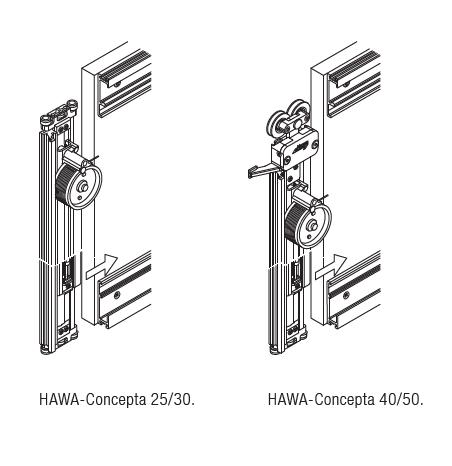 HAWA-Concepta 25/30/40/50