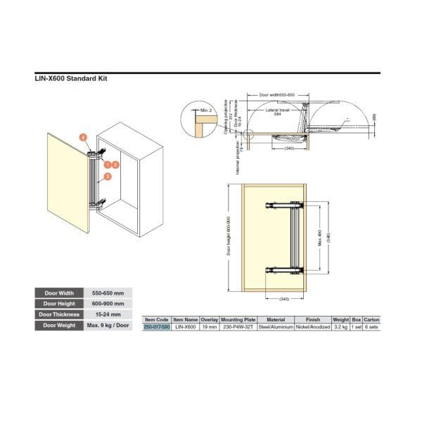 MonoFlat LIN-X600