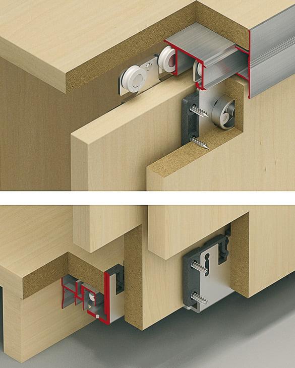 "Sliding doors system ""Eku Combino 20/35 MF"""