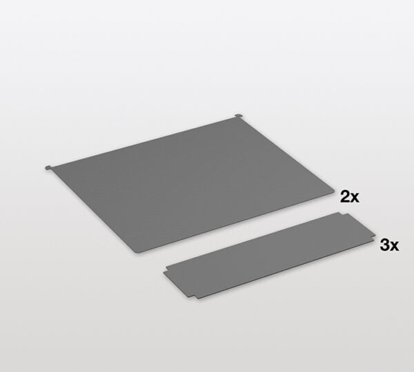 Non-slip mat set Libell for Trio lader unit 3