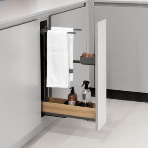 Snello FIORO towel rail extension