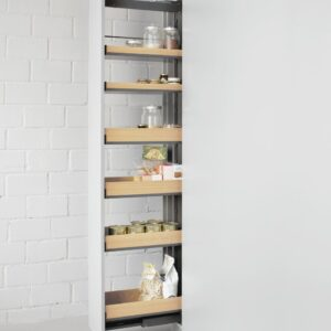 Wall Unit and Pantry Cabinets Storage Systems 5
