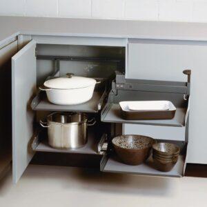 Magic Corner Comfort with LIBELL shelves