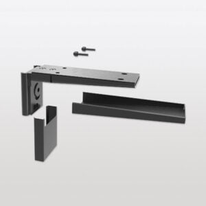 Pecasa shelf support for wood shelves