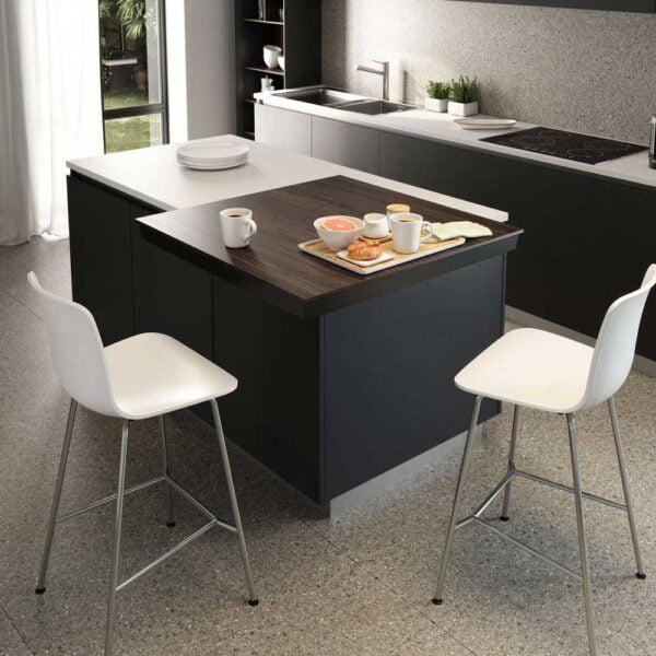 Corner – Sliding table top with diagonal movement 2